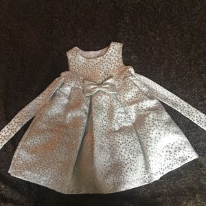 Toddler poka dot formal dress